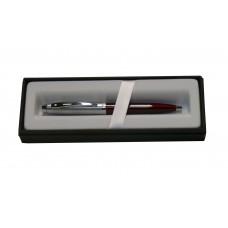 Bolígrafo Sheaffer 100 laca roja y cromo mate mod. 9307-2
