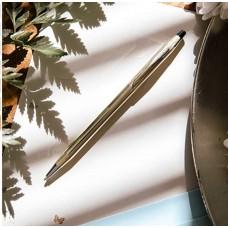 Bolígrafo Cross Century Gold laminado en oro10 K con estuche