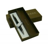 Bolígrafo Calais Cross Código Ato 112-2 con cuerpo en metal cromo púlido y laca negra