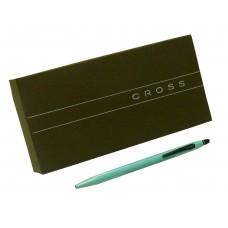 Bolígrafo Click Cross verde Cod. Ato 625-5 de cuerpo fino verde agua