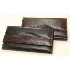 Billetera dama en simil cuero combinada 384 hg
