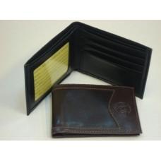 Billetera caballero en simil cuero combinada 381 ng