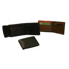 Billetera de cuero para hombre con cierre interior cod. 321 C