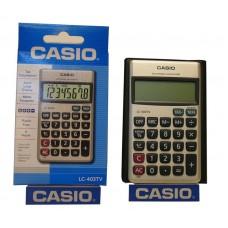 Calculadora Casio LC 403 8 dígitos a pila