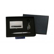 Set de tarjetero, llavero y bolígrafo Cod. MB 310