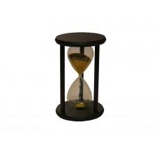 Reloj de arena base de madera chico Cod. 17.910.