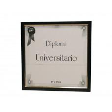 Marco para diploma universitario 170 laca azul