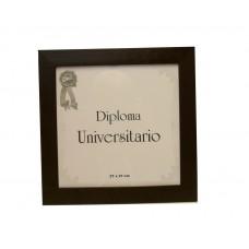 Marco para diploma universitario moldura 9 marrón