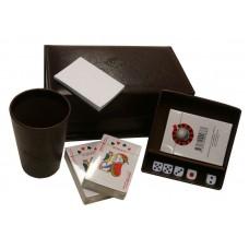 Caja de juegos grande en caja forrada simil 447 g