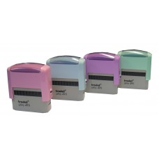 Sello De Goma Automático Trodat 4911 Colores Pastel